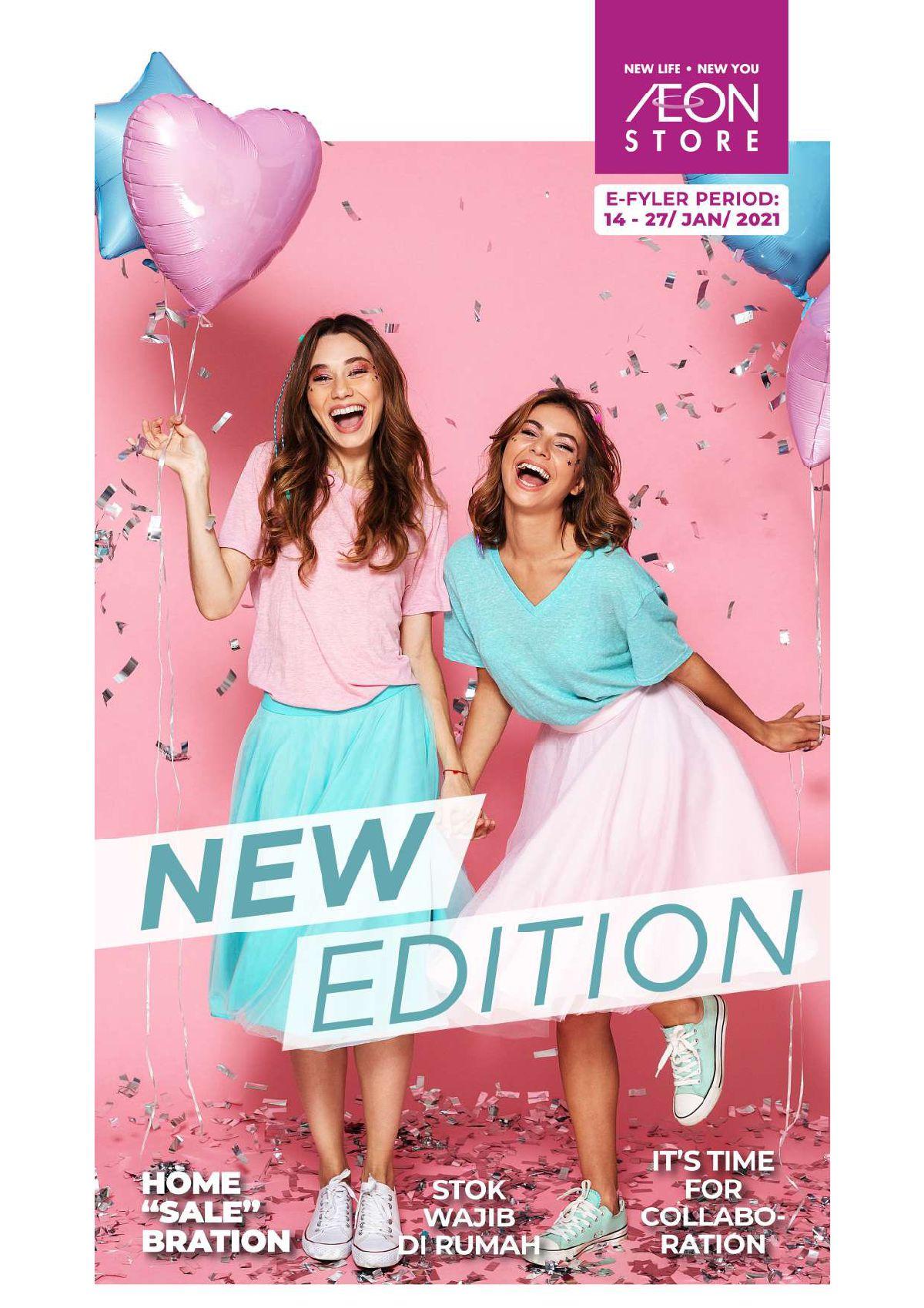 Katalog Promo Aeon Store Indonesia periode 14-27 Januari 2021