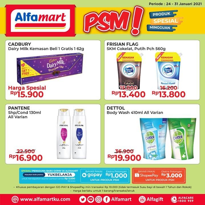 ALFAMART Promo PSM - Produk Spesial Mingguan periode 24-31 JANUARI 2021
