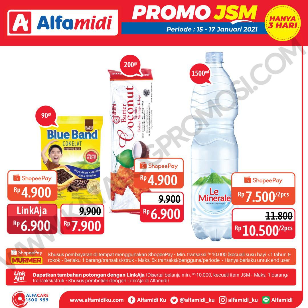 Promo ALFAMIDI JSM Weekend periode 15-17 Januari 2021
