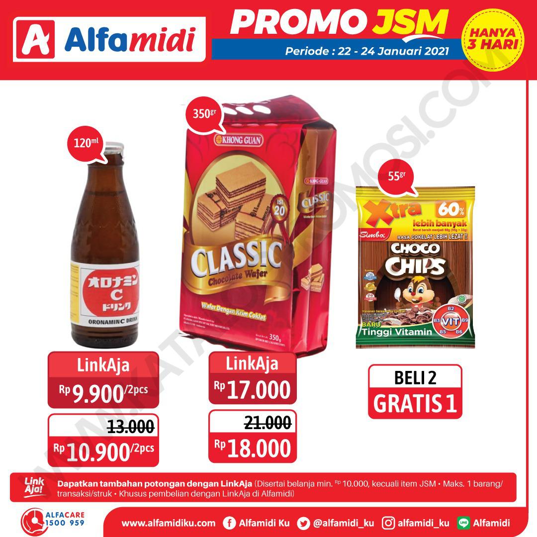 Promo ALFAMIDI JSM Weekend periode 22-24 Januari 2021