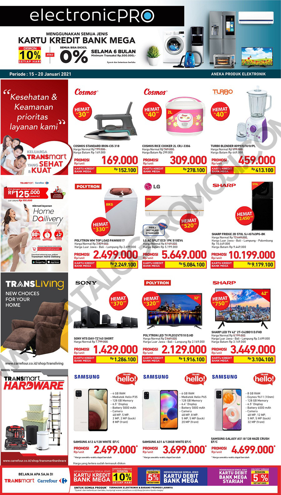 Promo TRANSMART CARREFOUR Katalog Weekend JSM periode 15-19 Januari 2021