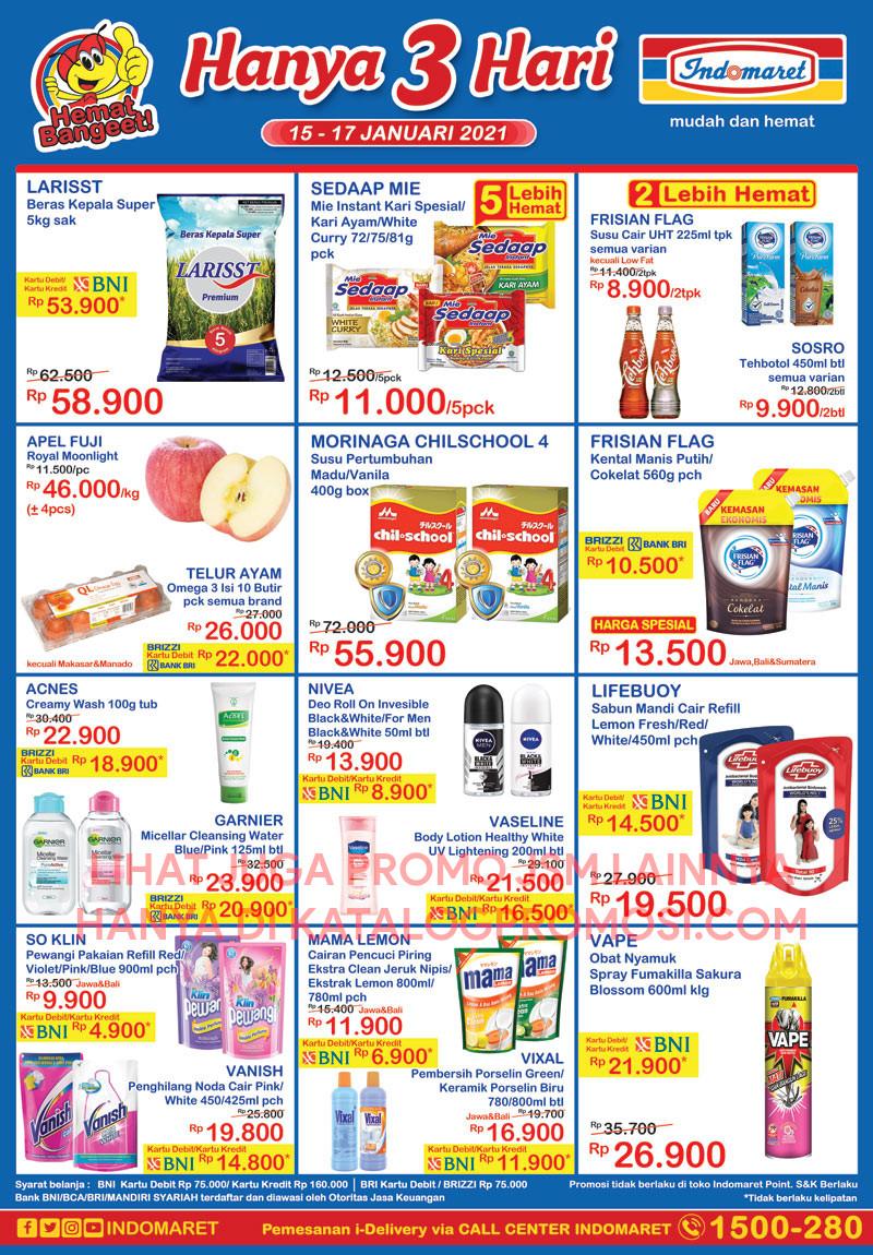 Promo INDOMARET Katalog Weekend JSM periode 22-24 Januari 2021