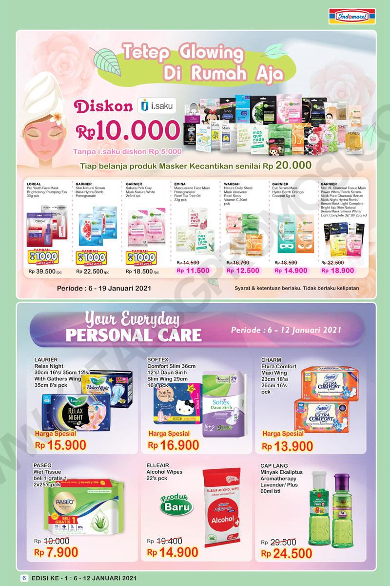 Promo INDOMARET Katalog Mingguan SUPER HEMAT periode 06-12 JANUARI 2021