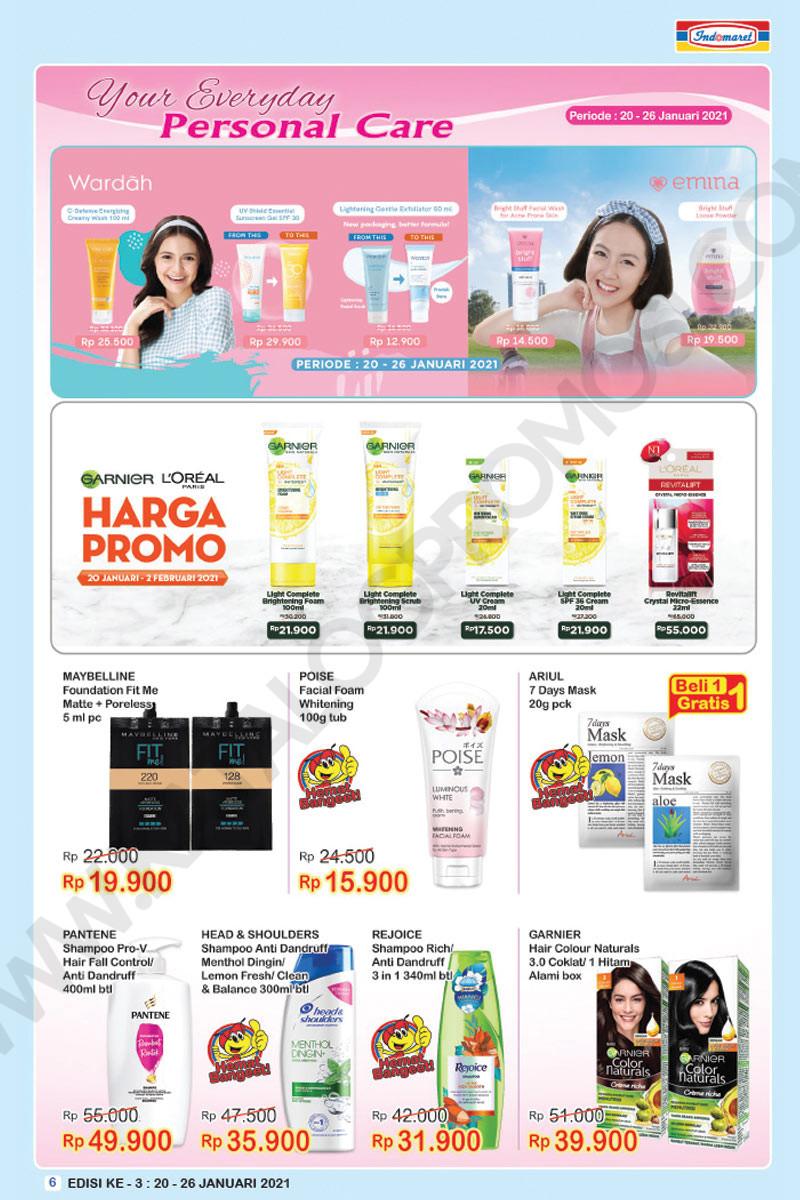 Promo INDOMARET Katalog Mingguan SUPER HEMAT periode 20-26 JANUARI 2021