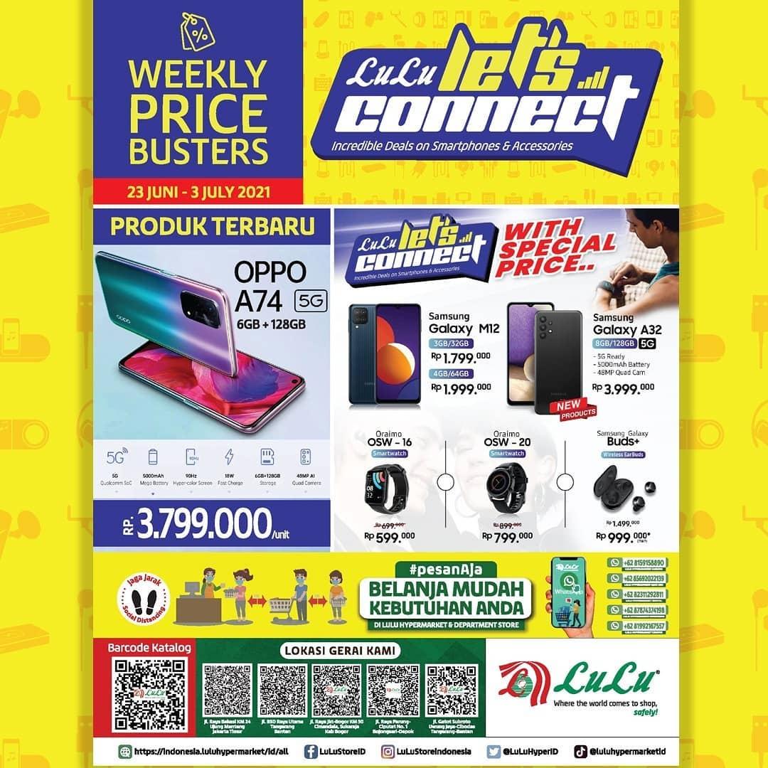 Lulu Hypermarket Promo Weekly Price Busters Lulu Let's Connect periode 23 JUNI - 03 JULI 2021