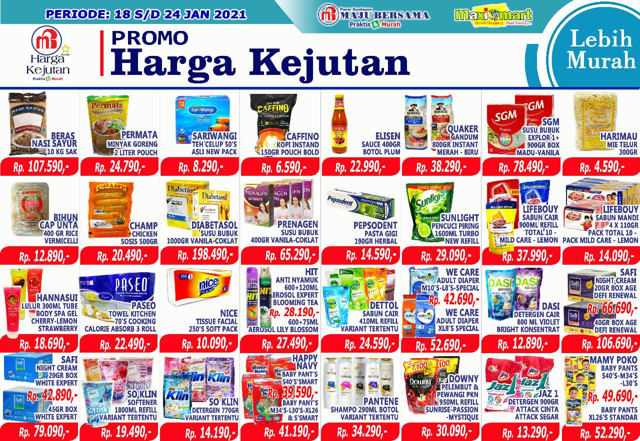 Katalog Maximart Promo Mingguan periode 18-24 Januari 2021