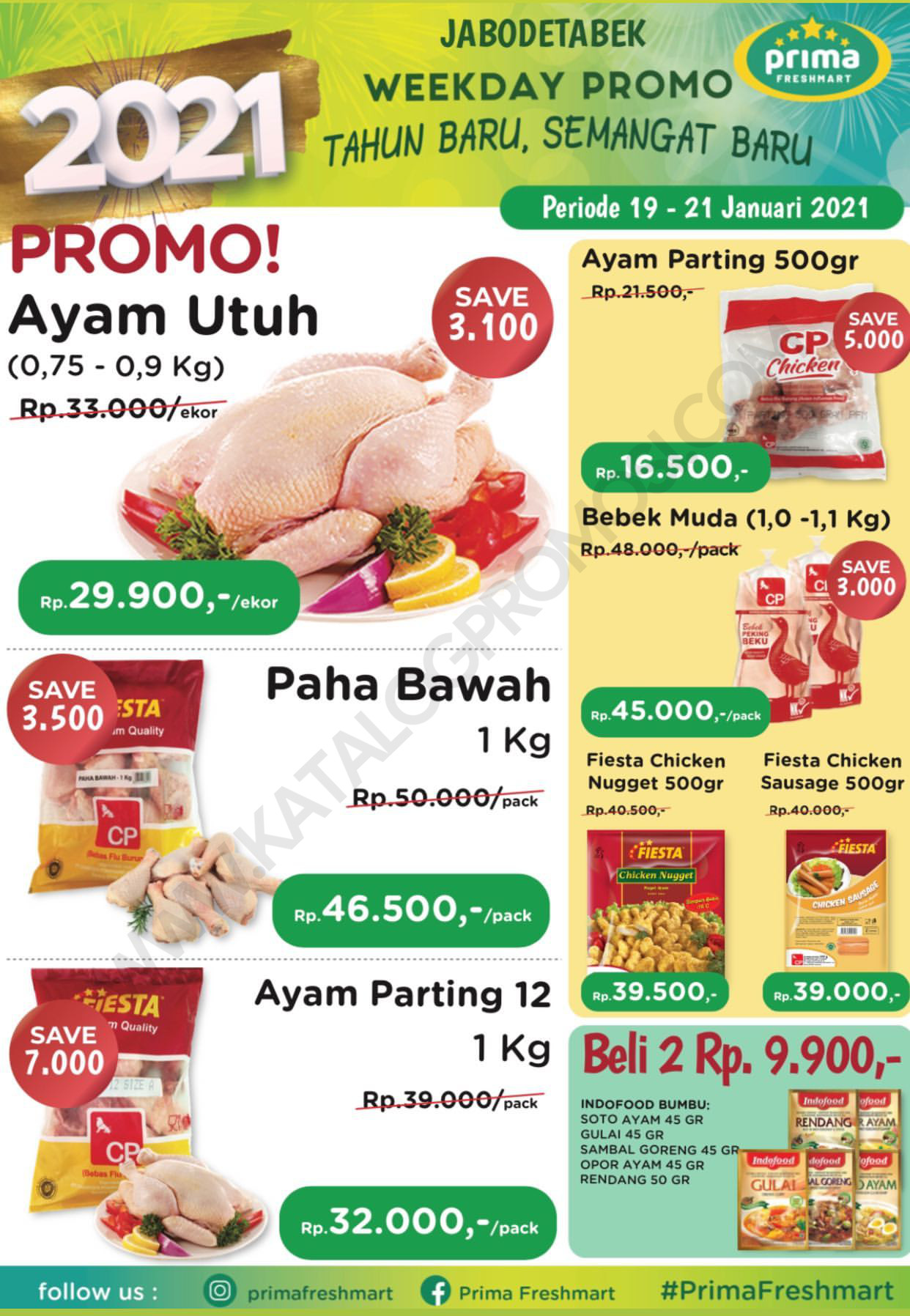 Promo Prima Freshmart Terbaru - Katalog Belanja Weekday periode 19-21 Januari 2021