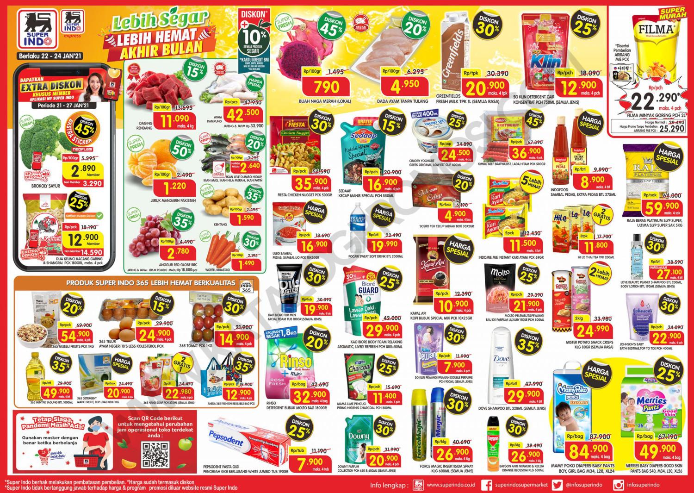 Promo Superindo JSM Katalog WEEKEND periode 22-24 Januari 2021