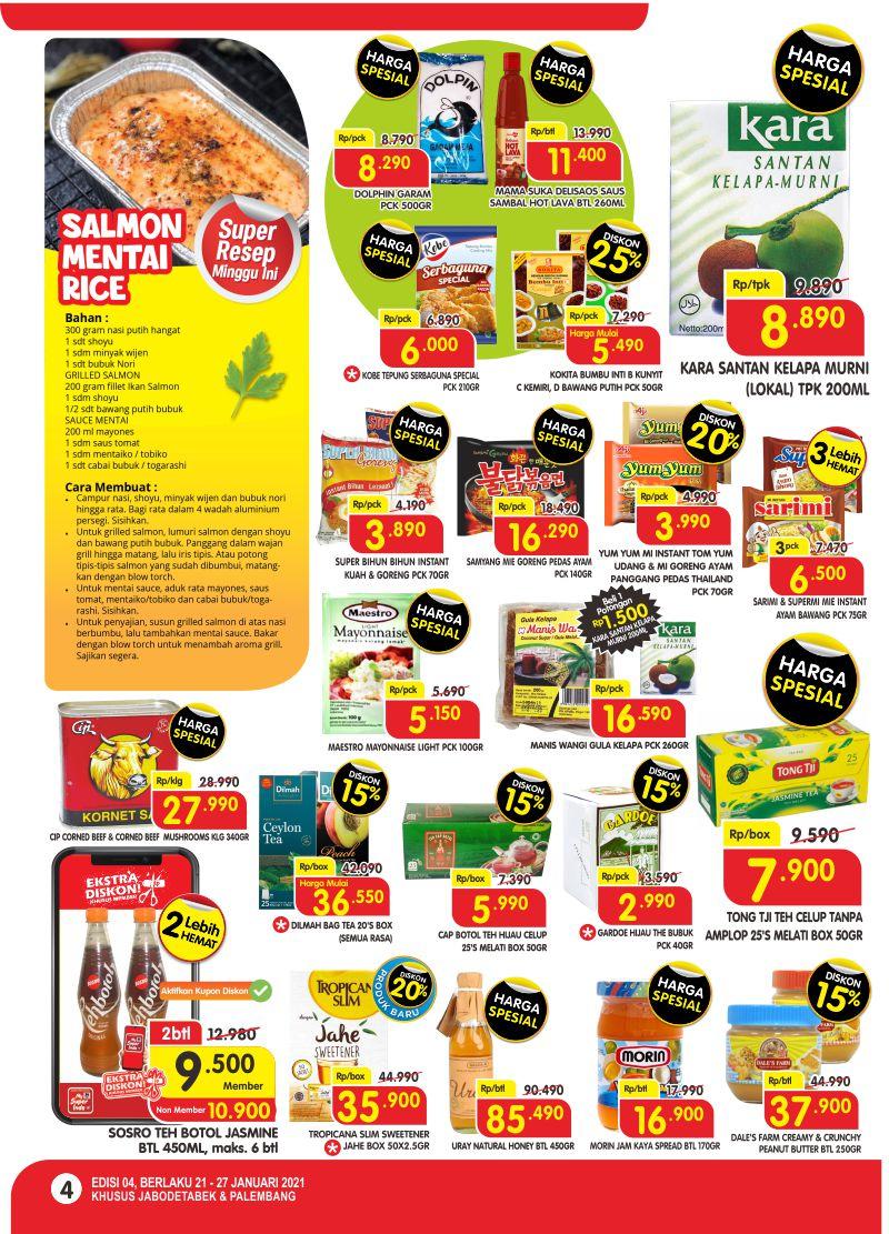 Promo Superindo Katalog Belanja Mingguan periode 21-27 Januari 2021