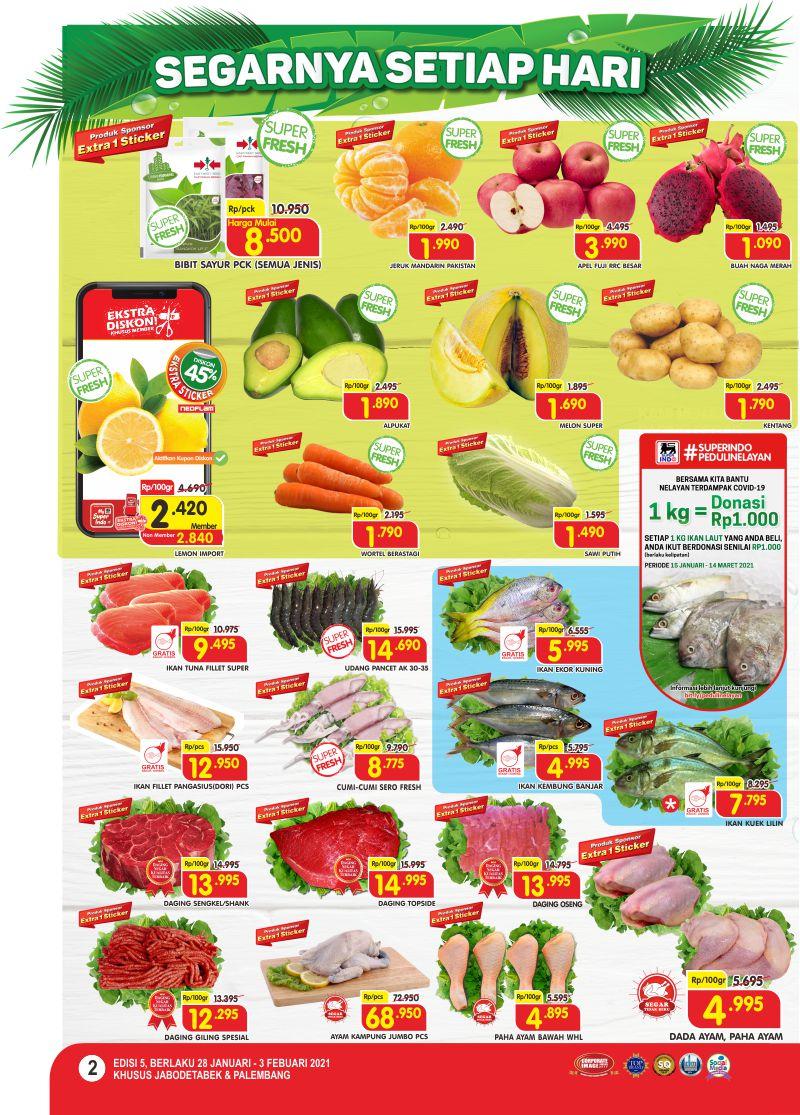 Promo Superindo Katalog Belanja Mingguan periode 28 Januari - 03 Februari 2021