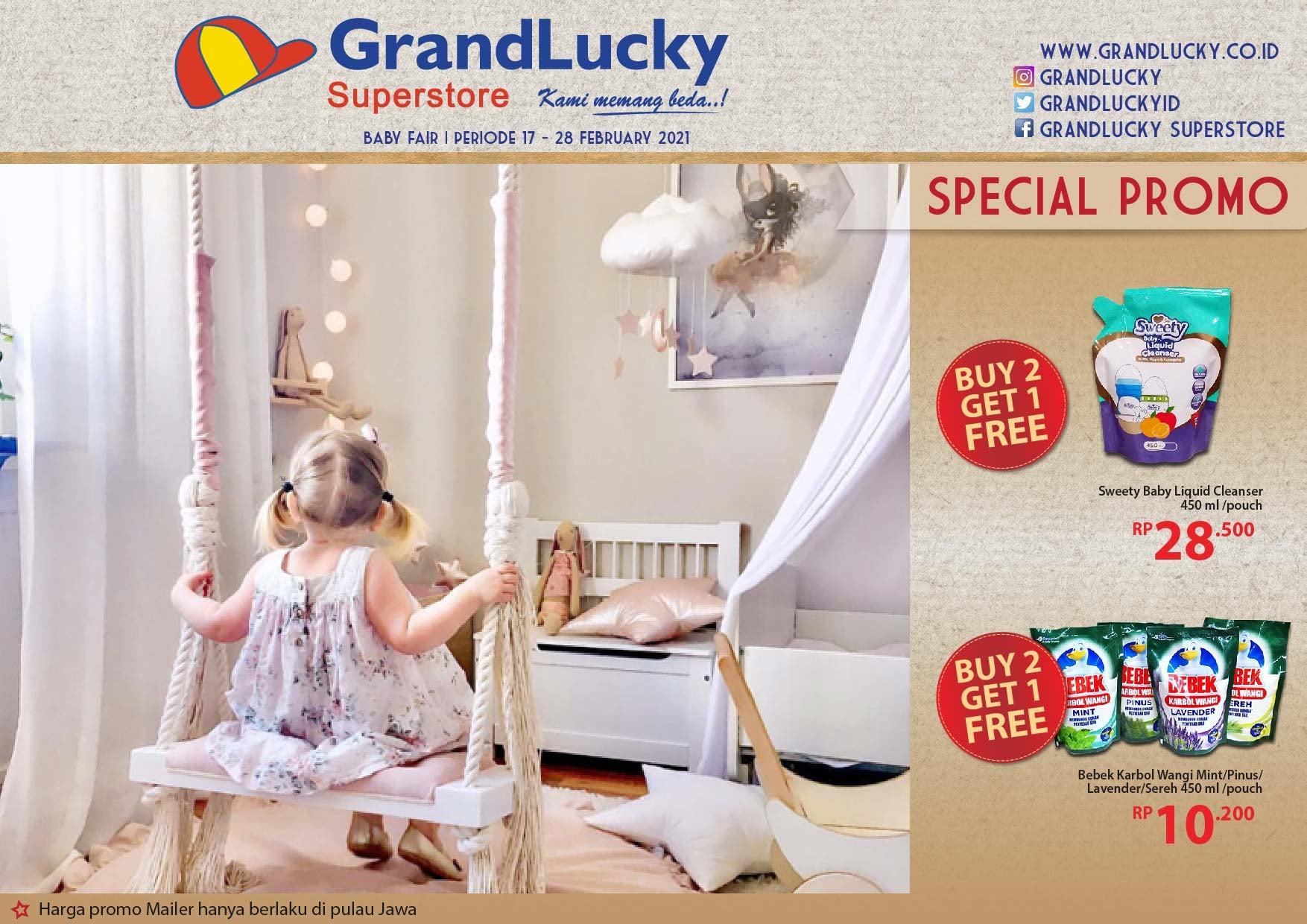 Promo GRAND LUCKY Superstore Katalog Mingguan Periode 17-28 Februari 2021