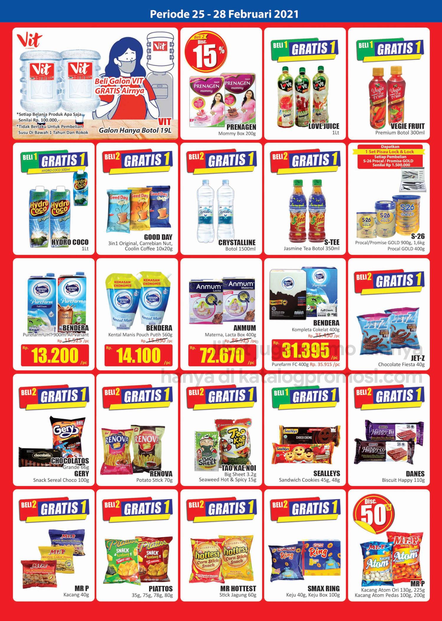 Promo Hari Hari Pasar Swalayan Weekend JSM Periode 25-28 Februari 2021