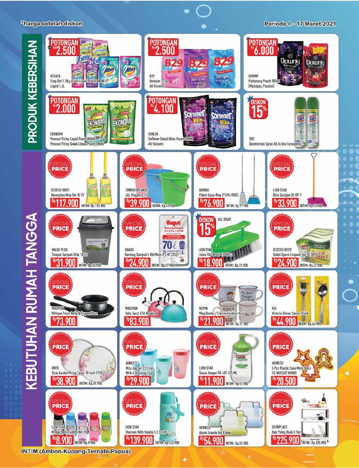 Promo Hypermart Katalog Belanja Mingguan periode 04-17 Maret 2021