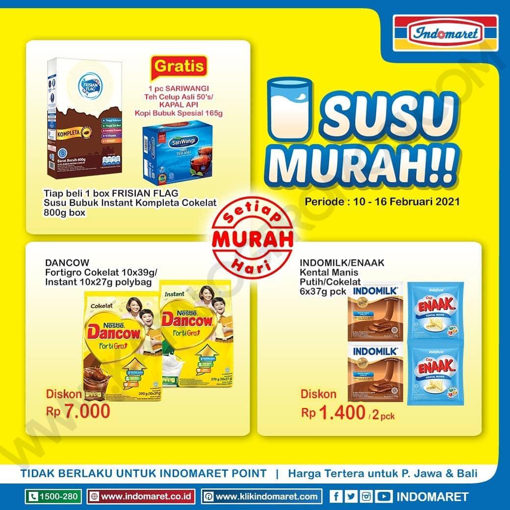 INDOMARET Promo HARGA HEBOH , MINYAK MURAH dan SUSU MURAH periode 10-16 Februari 2021