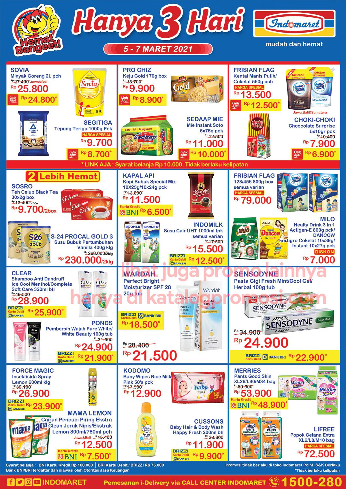 Promo INDOMARET JSM Katalog Weekend periode 05-07 Maret 2021