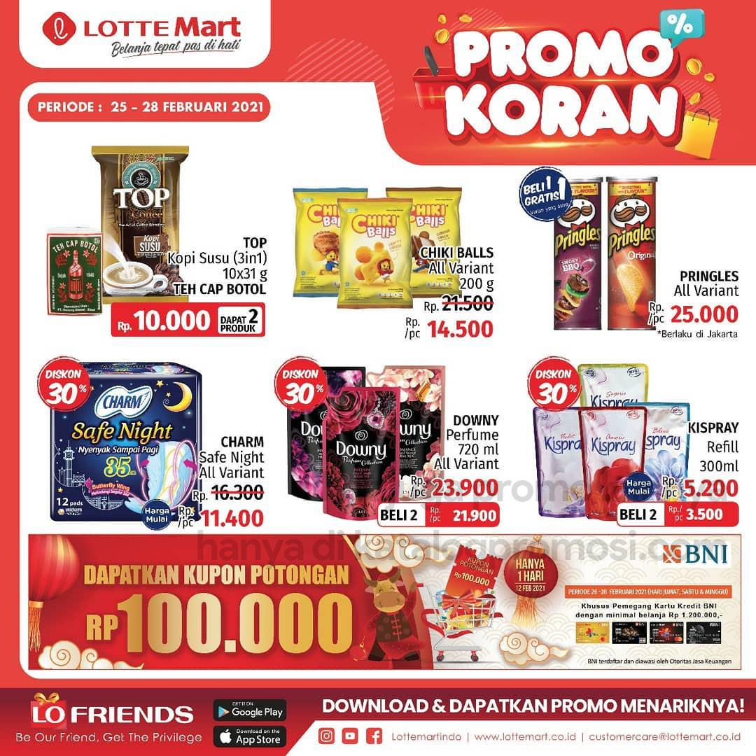 Katalog Promo LOTTEMART RETAIL khusus Weekend periode 25-28 FEBRUARI 2021