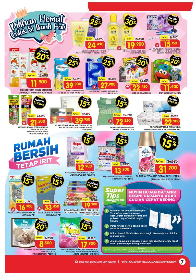 Promo Superindo Katalog Belanja Mingguan periode 04-10 Maret 2021