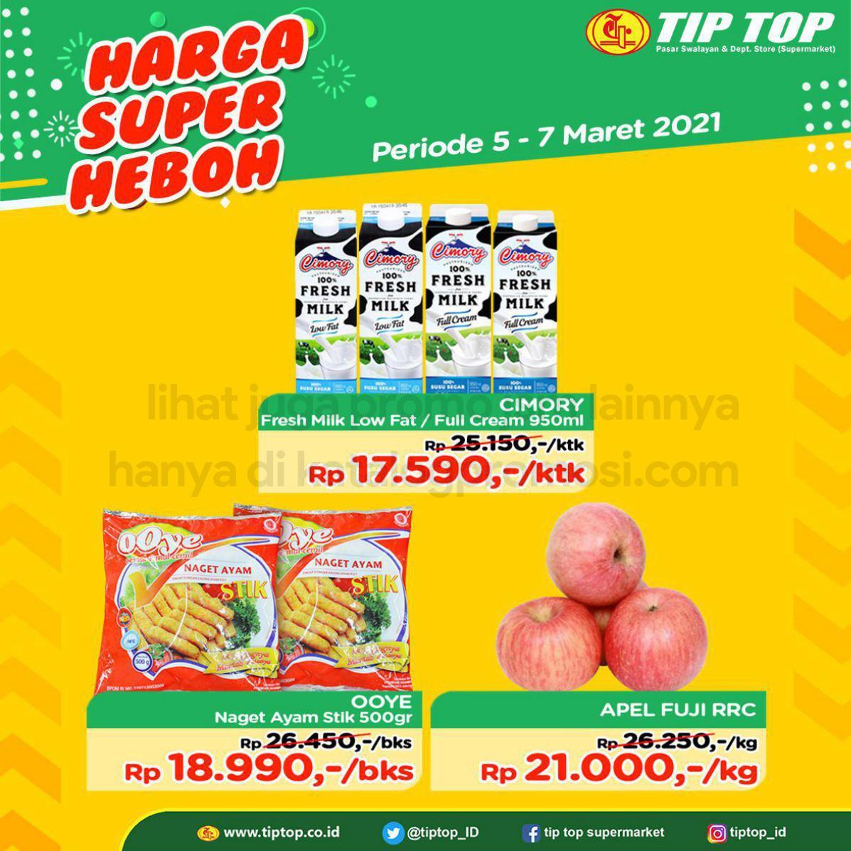 Katalog TIP TOP Pasar Swalayan Promo Weekend periode 05-07 Maret 2021