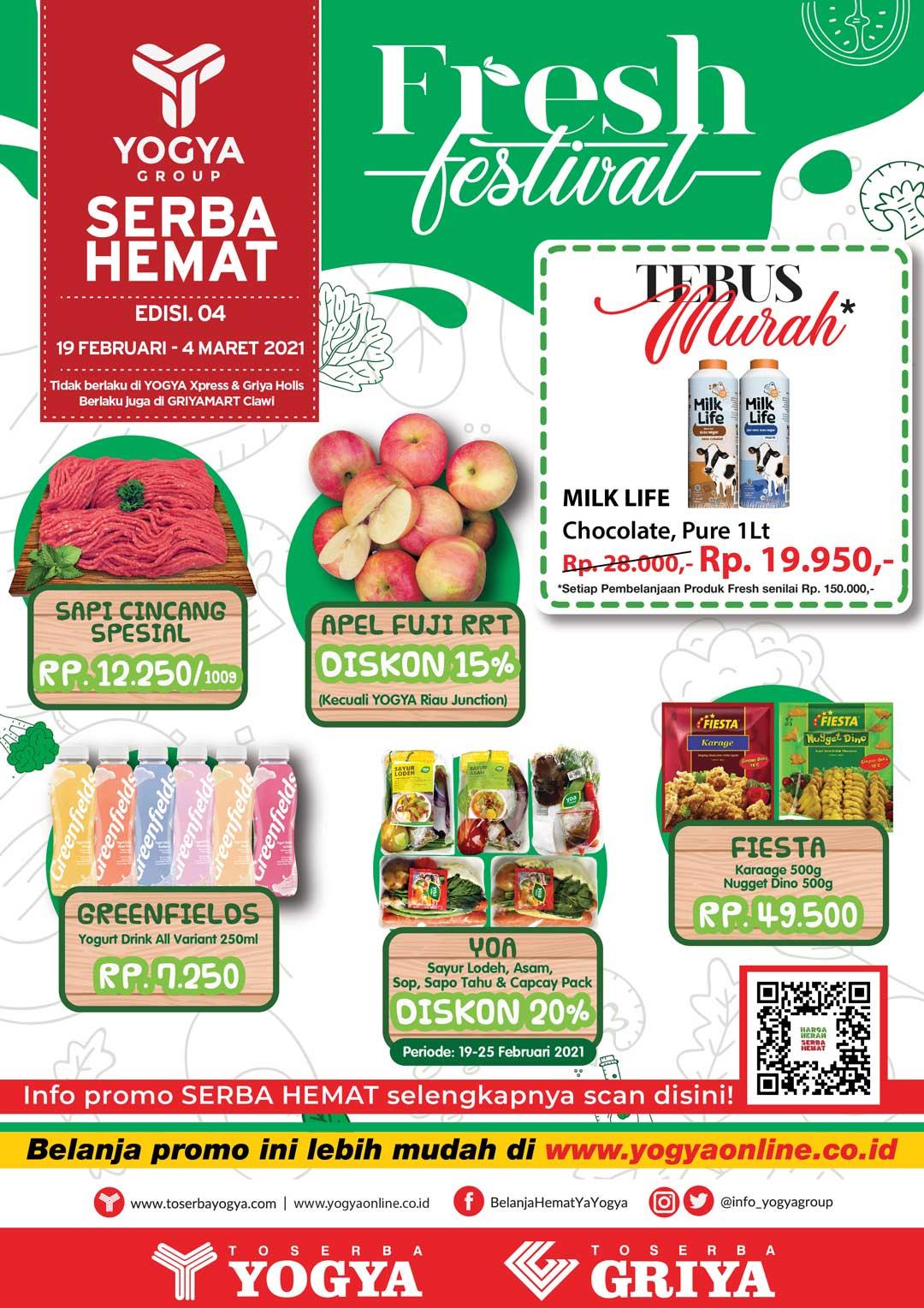 Katalog Toserba Yogya Promo SERBA HEMAT periode 19 Februari - 04 Maret 2021
