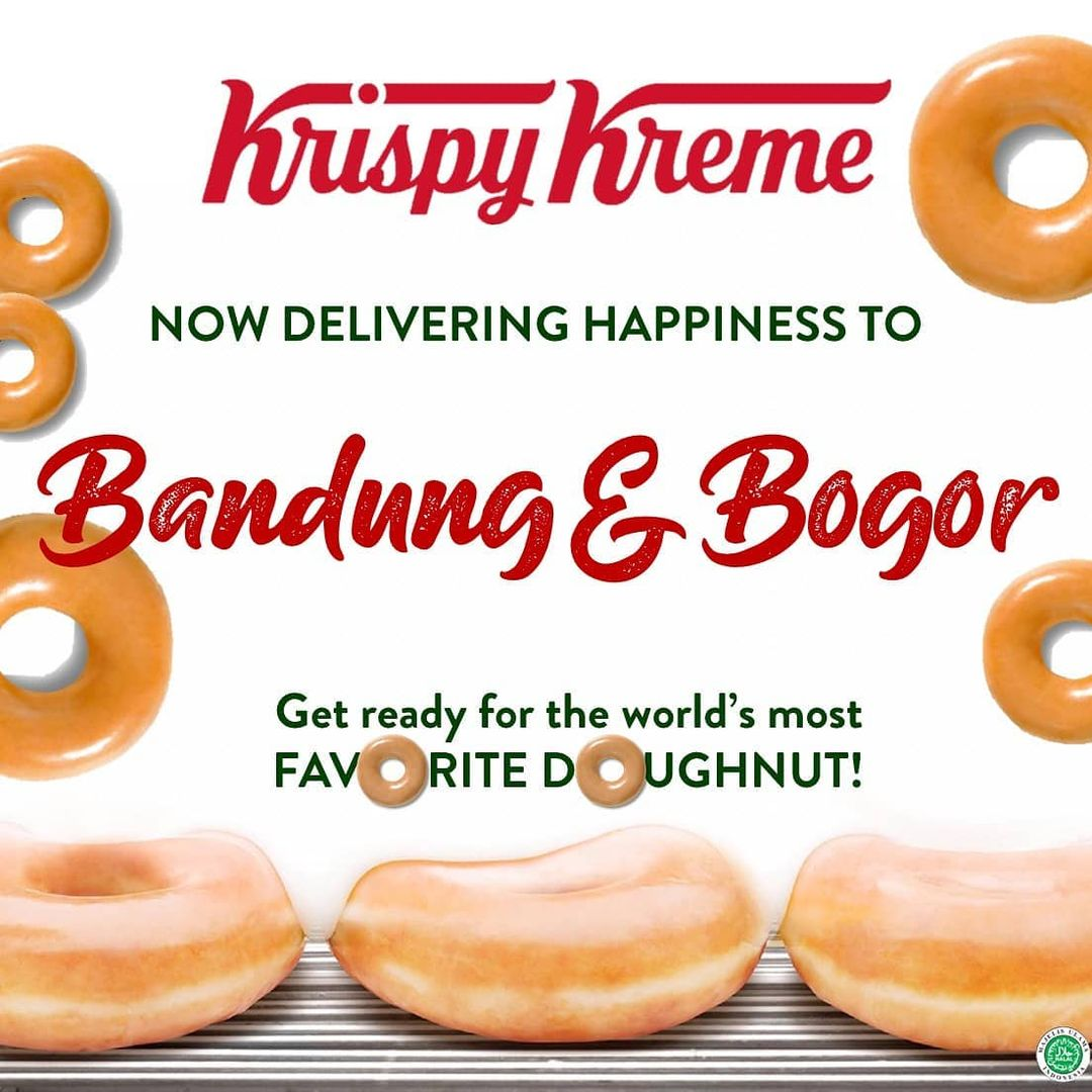 Promo Krispy Kreme OPEN PRE-ORDER for Bandung area ! Paket Spesial mulai Rp. 81.000
