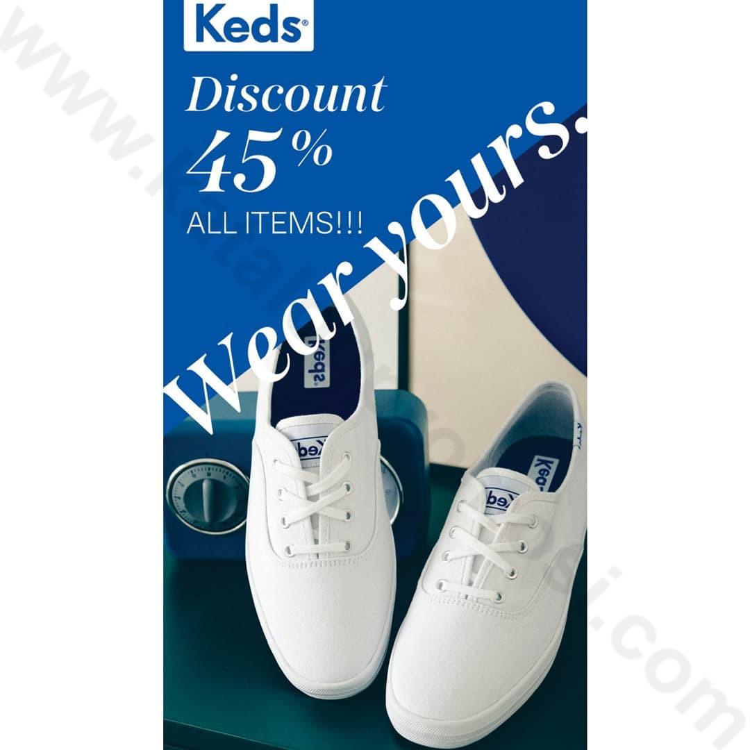 KEDS Promo SPESIAL HUT RI KE 76 – Discount 45% All Items*