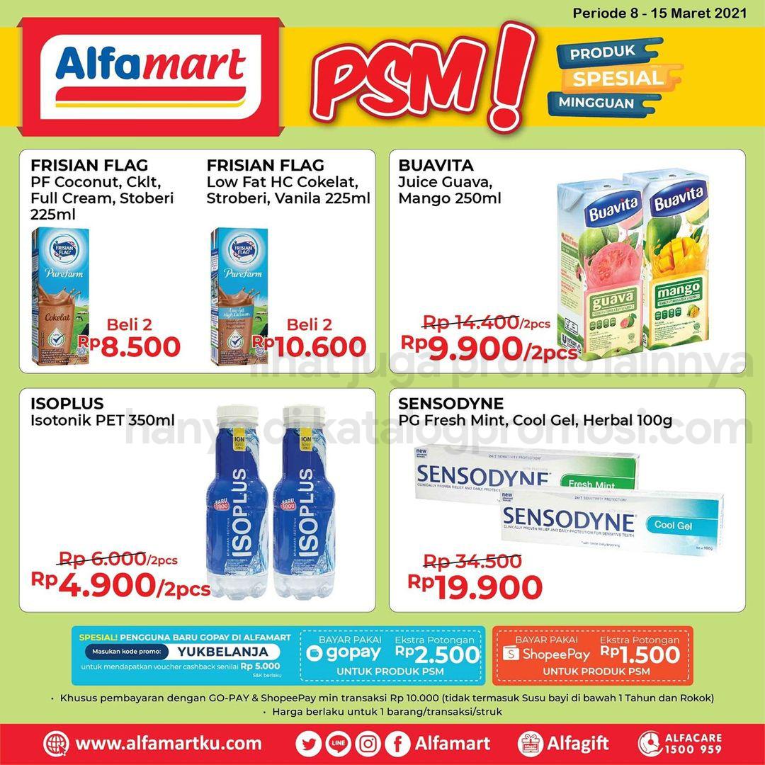 ALFAMART Promo PSM - Produk Spesial Mingguan periode 08-15 Maret 2021