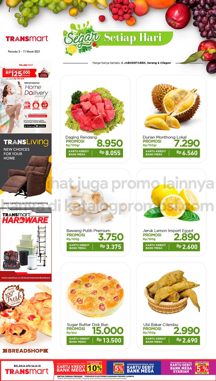 Promo CARREFOUR Katalog Promo HEMAT Produk FRESH periode 05-11 Maret 2021