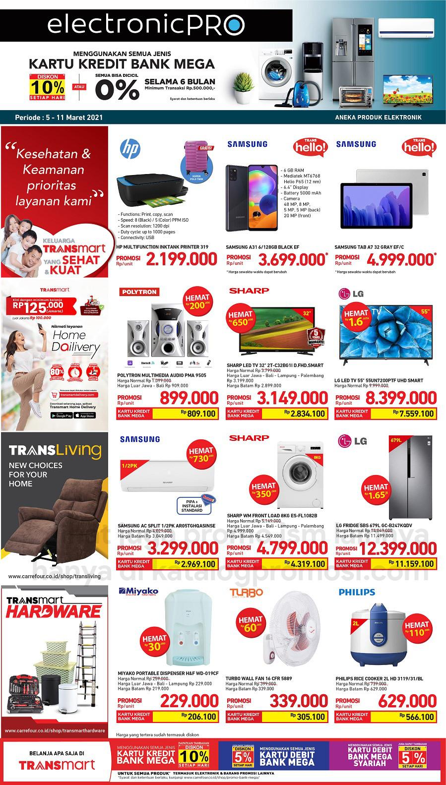 Promo TRANSMART CARREFOUR Katalog Weekend JSM periode 05-09 Maret 2021