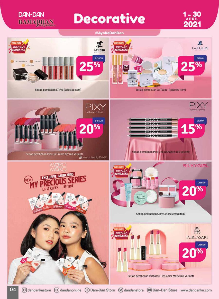 Katalog Promo DAN+DAN TERBARU periode APRIL 2021