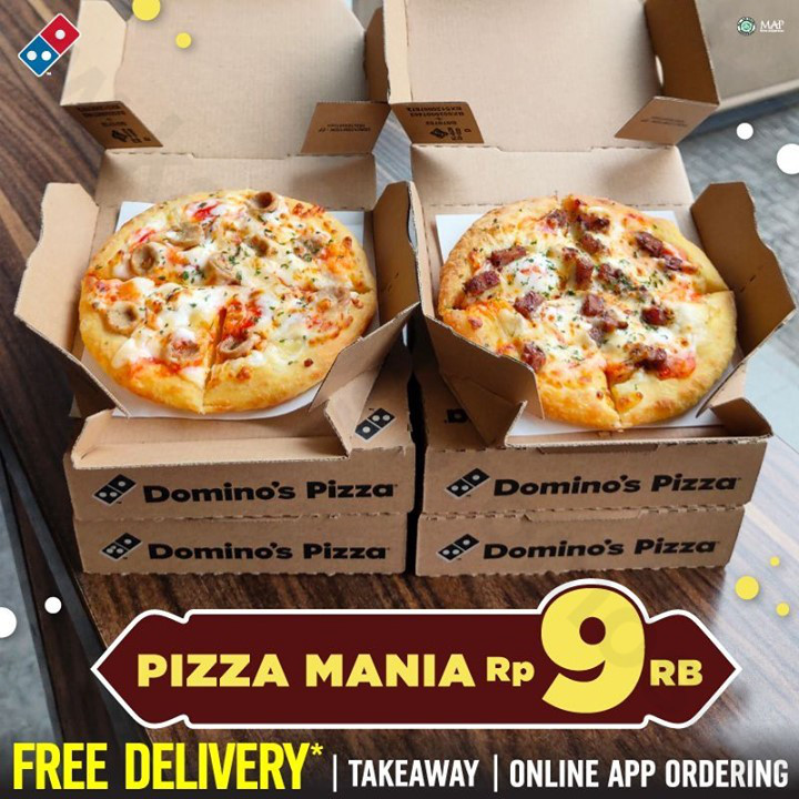 Promo Ramadhan DOMINOS PIZZA - Beli PIZZA MANIA Hanya Rp 9.000*