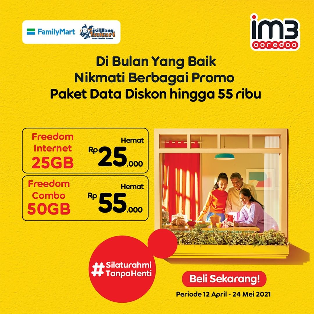 Promo FAMILYMART JSM Katalog Weekend periode 16-18 April 2021