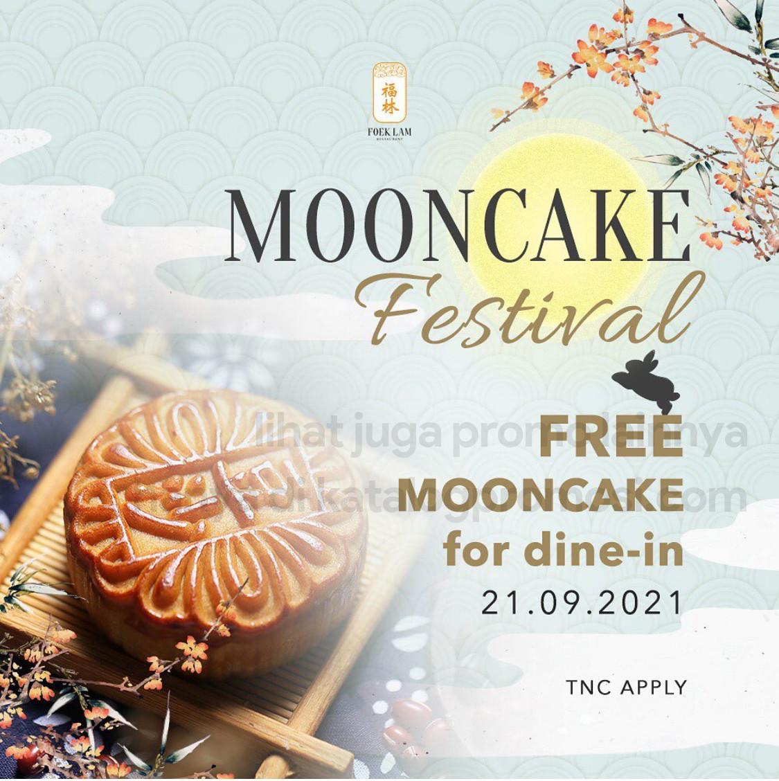 Promo FOEK LAM MOONCAKE FESTIVAL - FREE mooncake for everyone