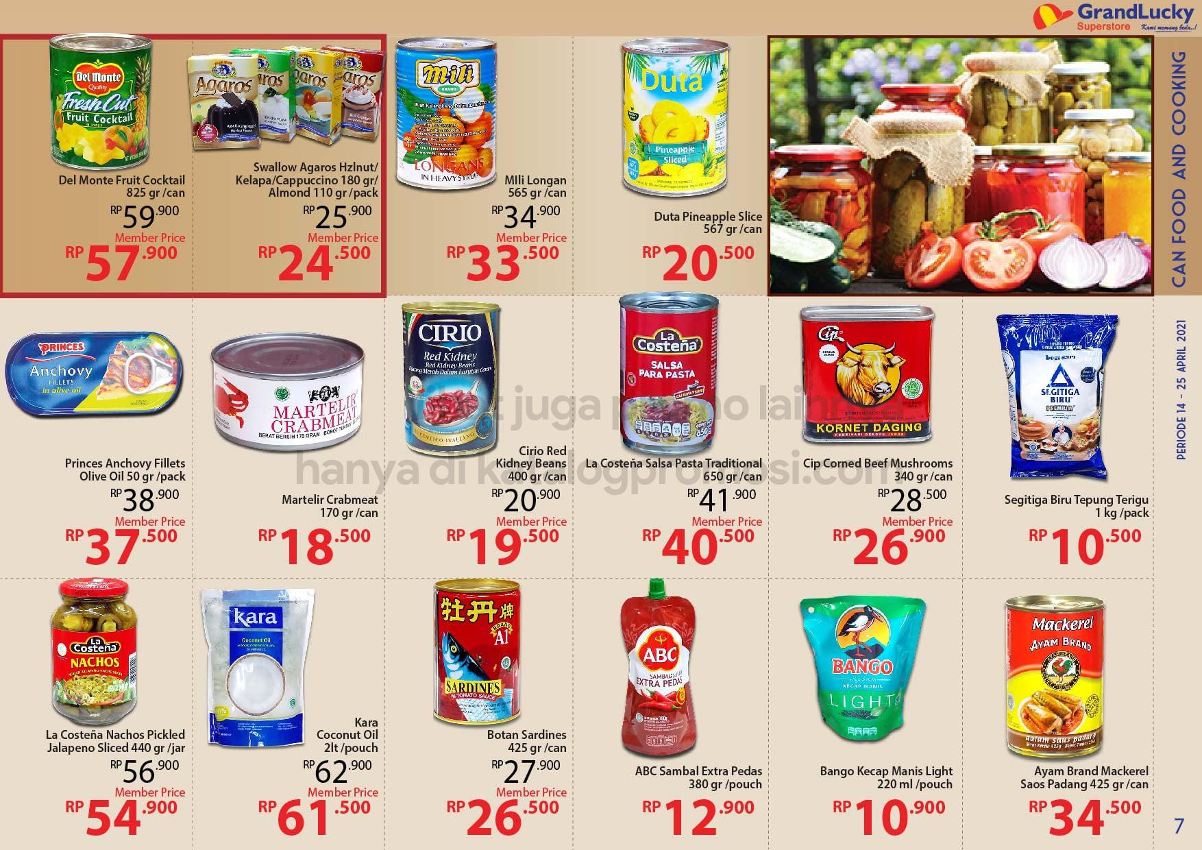 Promo GRAND LUCKY Superstore Katalog Mingguan Periode 14-25 April 2021