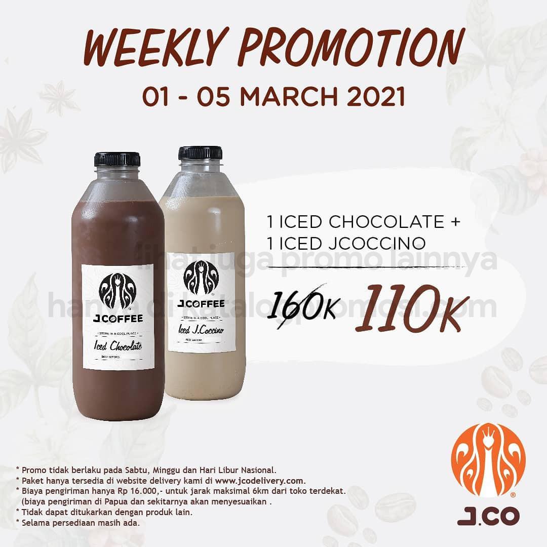 Promo JCO Minggu Ini | Weekly Promotion - Beli 2 botol JCOFFEE ukuran 1 liter Hanya Rp. 110.000