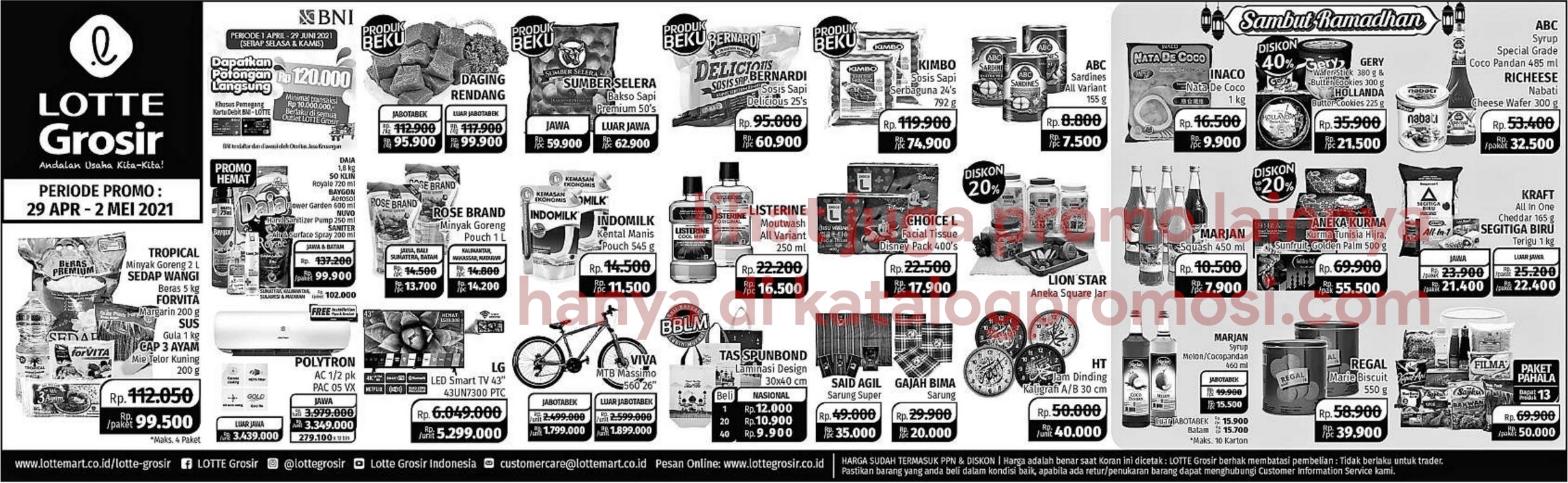 Promo LOTTE GROSIR WEEKEND SPECIAL periode 29 April - 02 Mei 2021