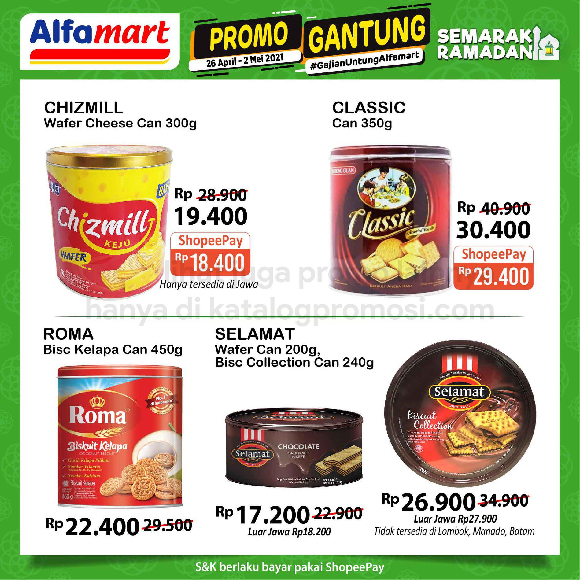 Promo GANTUNG ALFAMART / GAJIAN UNTUNG periode 26 April - 02 Mei 2021