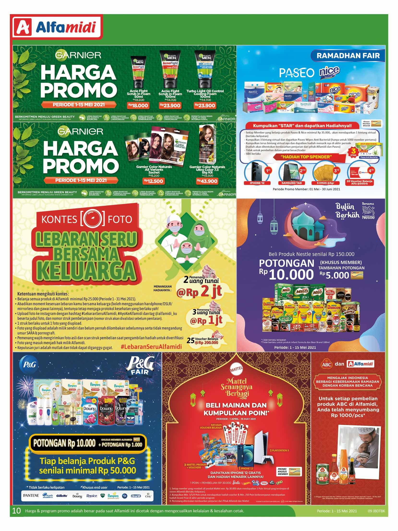 Katalog ALFAMIDI Promo Mingguan Periode 01-15 Mei 2021