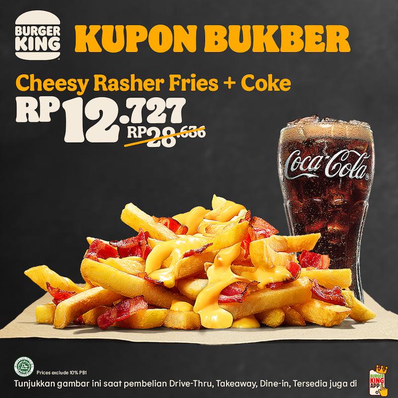 BURGER KING Promo KUPON BUKBER selama bulan RAMADAN