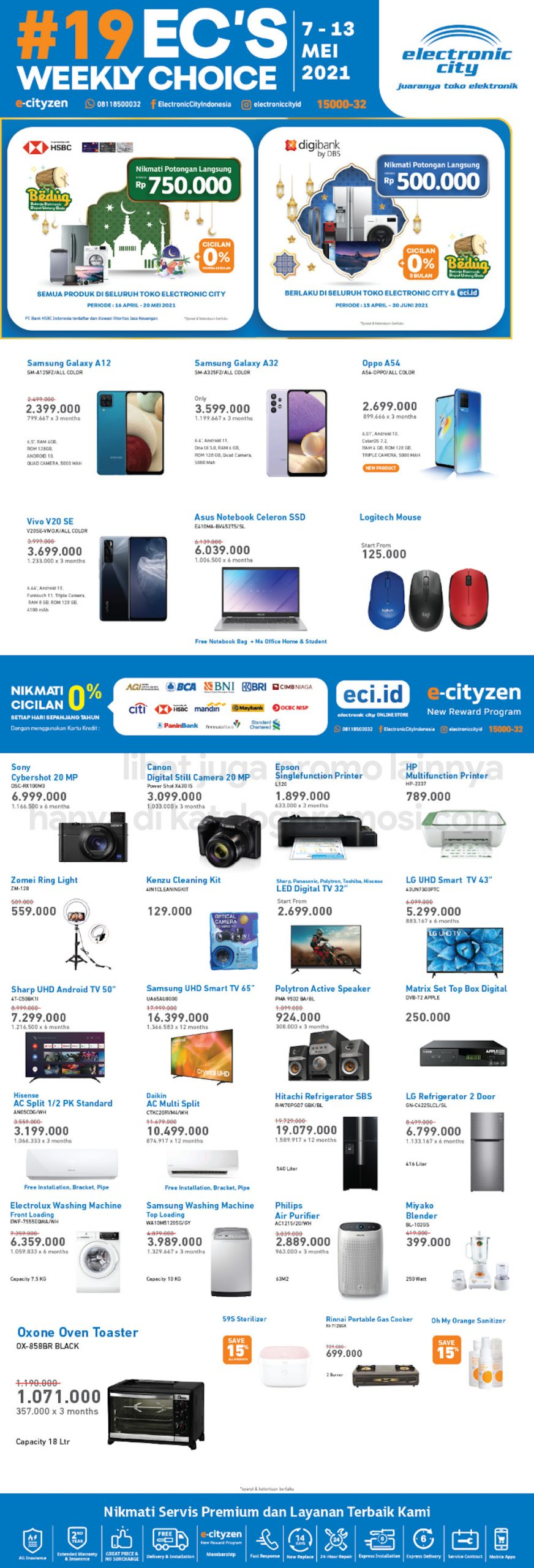 Promo Electronic City Katalog Weekly Special periode 07-13 Mei 2021
