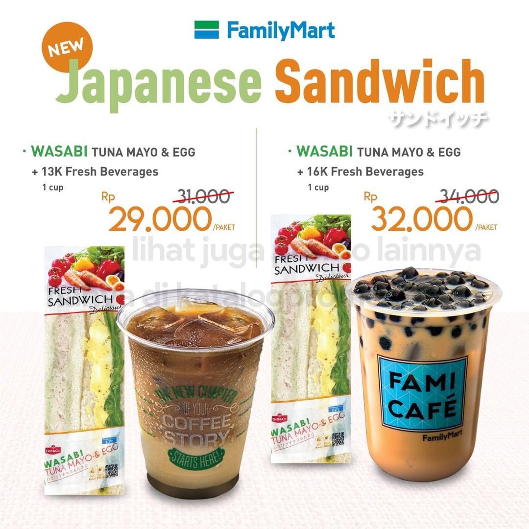 BARU! Japanese Sandwich WASABI Tuna Mayo & Egg dari FAMILYMART