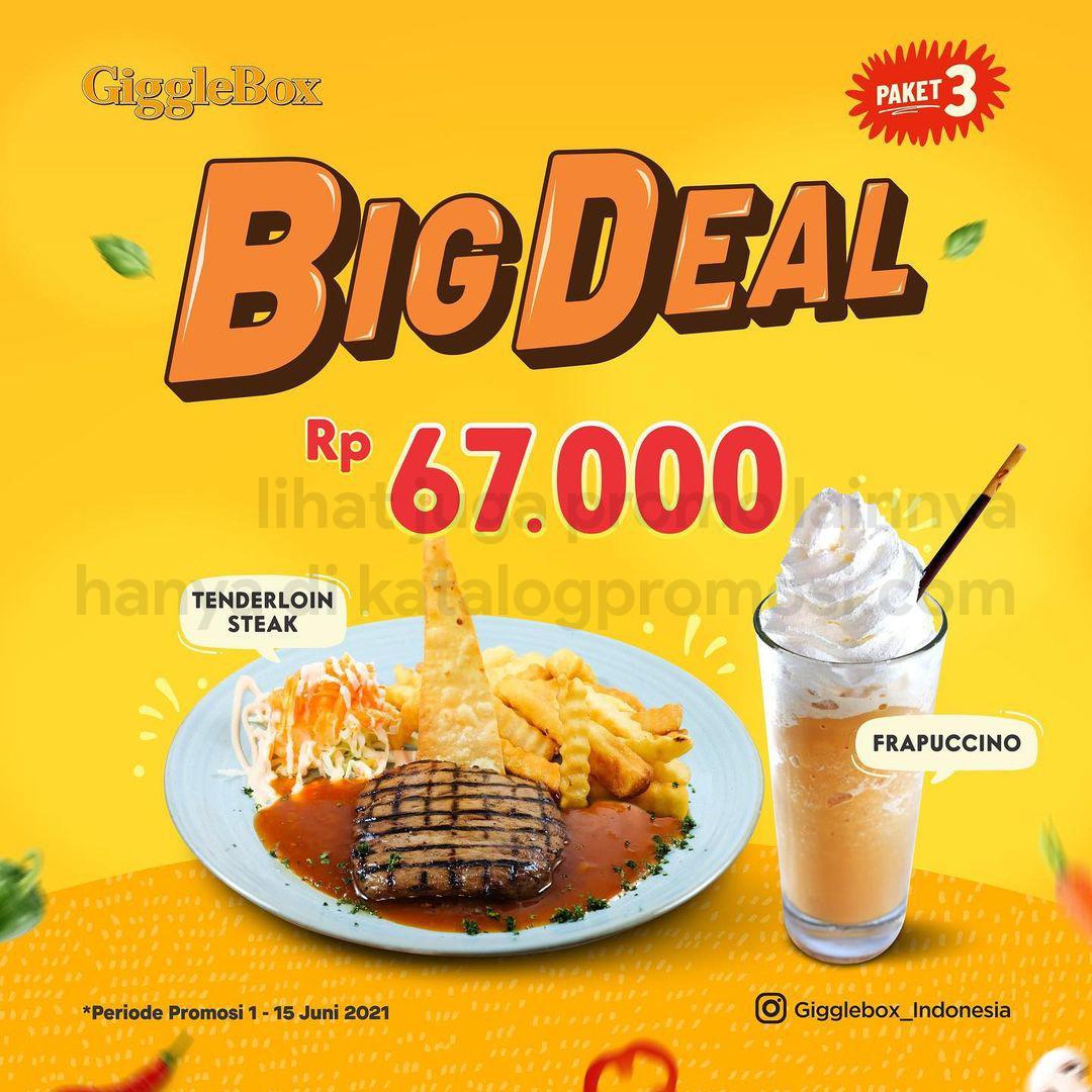 Promo GIGGLE BOX BIG DEALS - PAKET SPESIAL dengan HARGA SPESIAL mulai Rp. 56.000