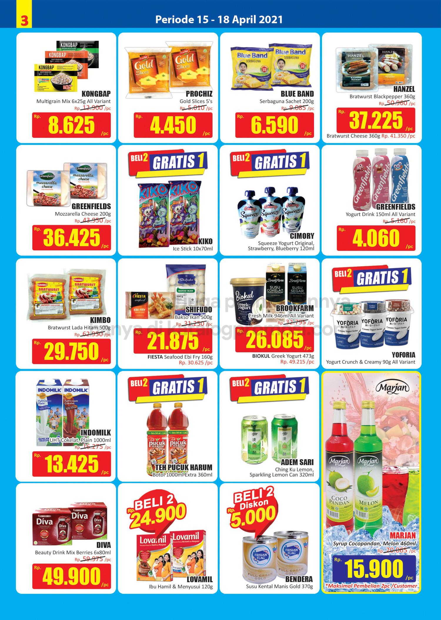 Promo Hari Hari Pasar Swalayan Weekend JSM Periode 15-18 April 2021