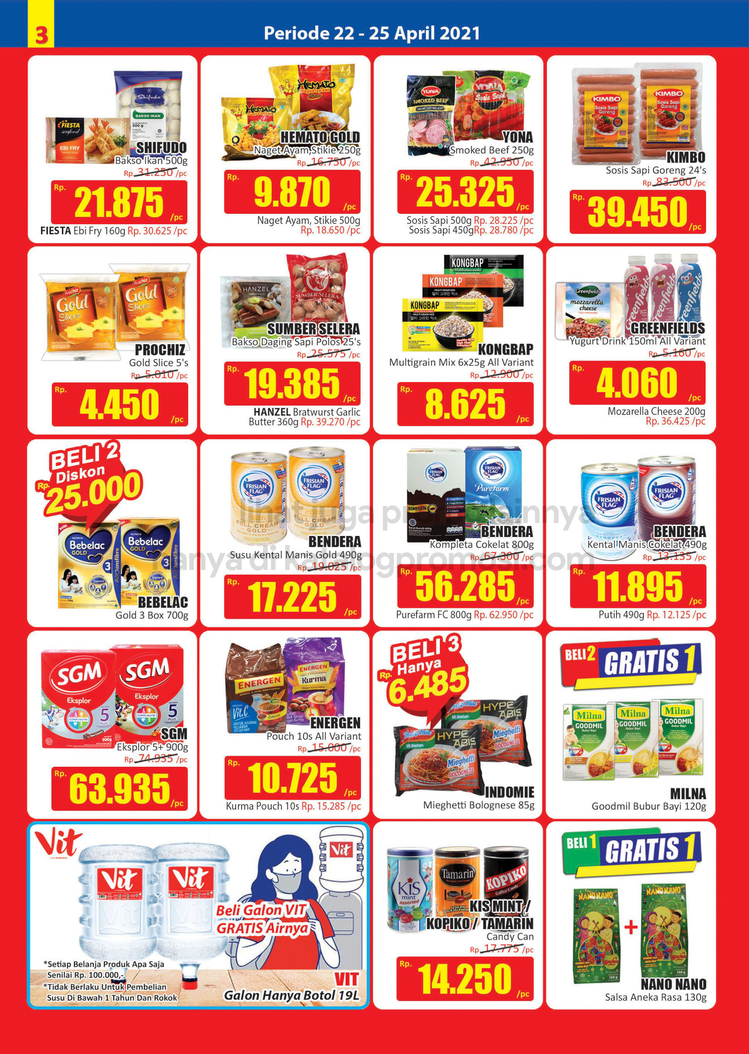 Promo Hari Hari Pasar Swalayan Weekend JSM Periode 22-25 April 2021