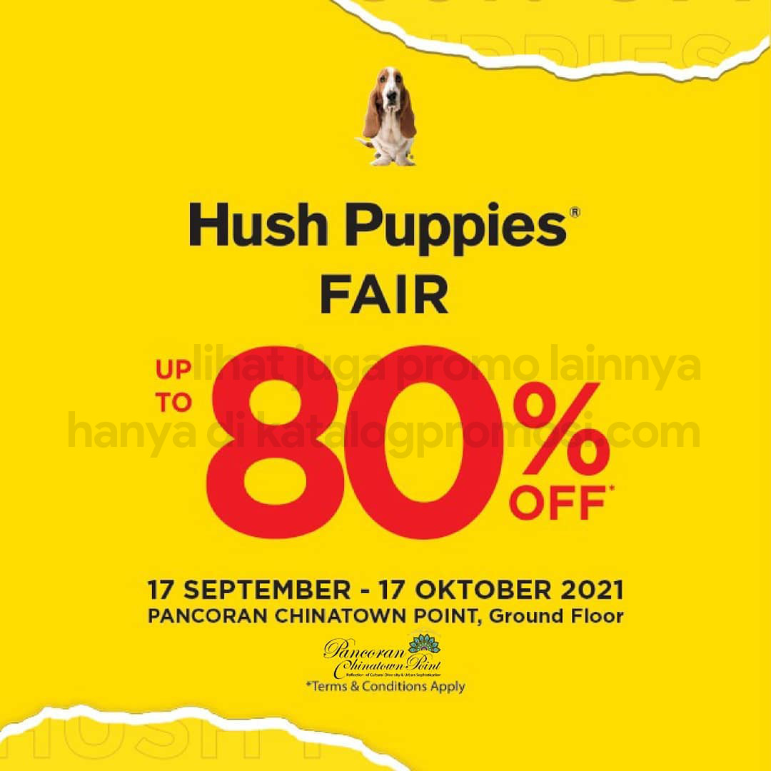 HUSH PUPPIES Fair di Pancoran Chinatown Point - Discount Up To 80% Off*