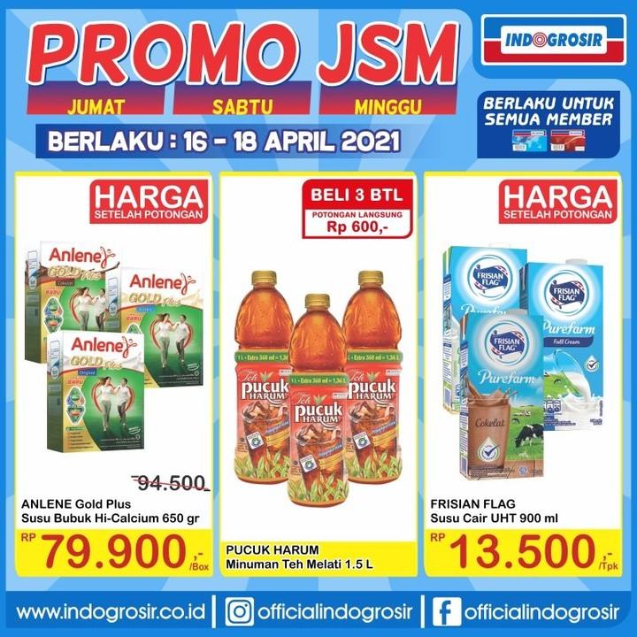 Promo JSM INDOGROSIR KATALOG WEEKEND periode 16-18 April 2021