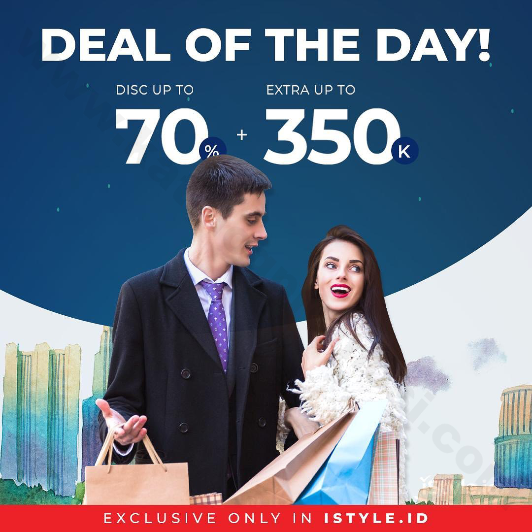 DEAL OF THE DAY! Lotte Avenue Promo Disc Up to 70% + 350K Off, Exclusive on iStyle.id!