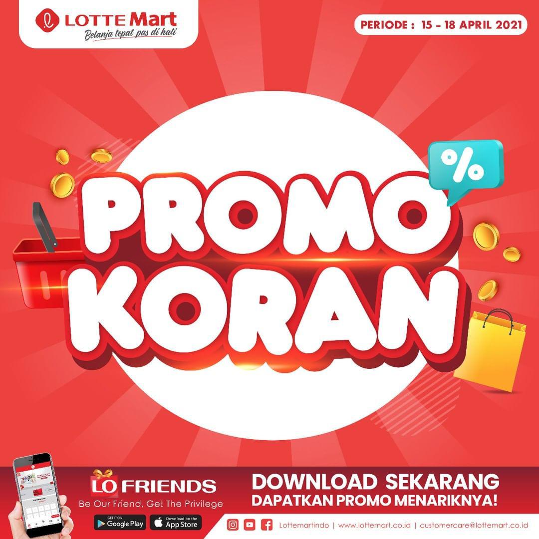 Katalog Promo LOTTEMART RETAIL khusus Weekend periode 15-18 April 2021