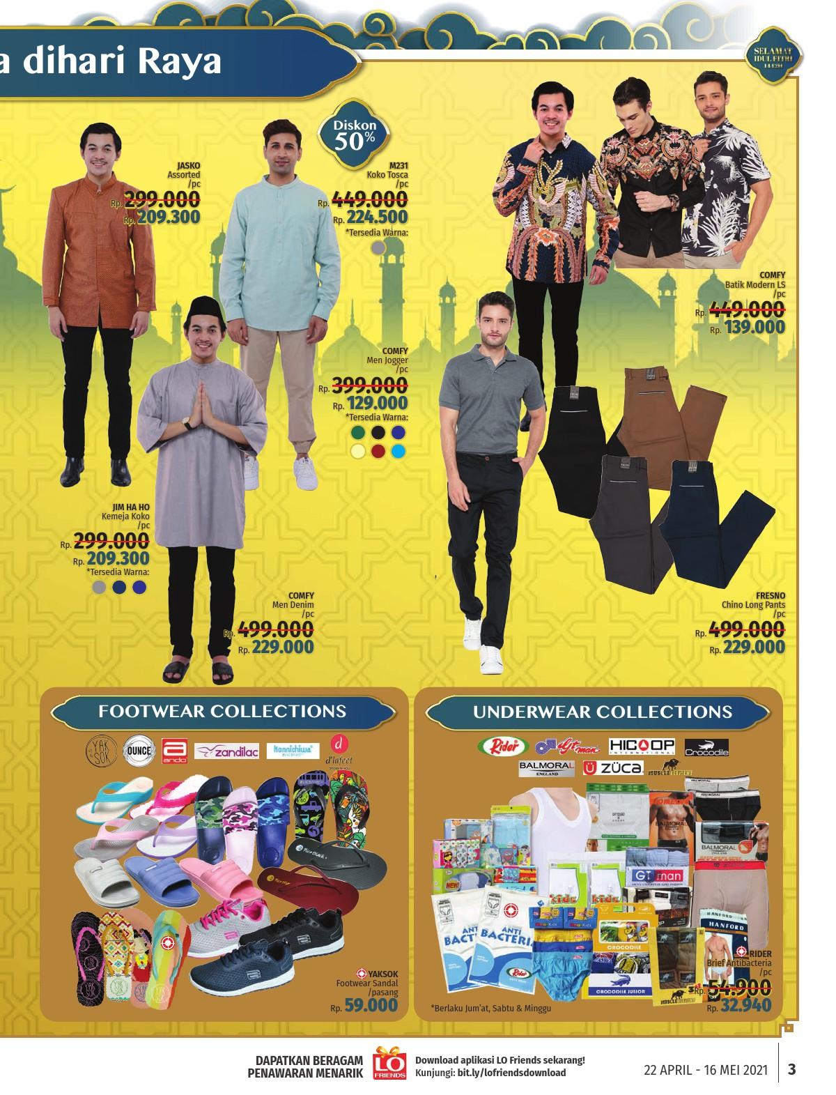 LOTTEMART Promo KATALOG MINGGUAN periode 22 April - 16 Mei 2021