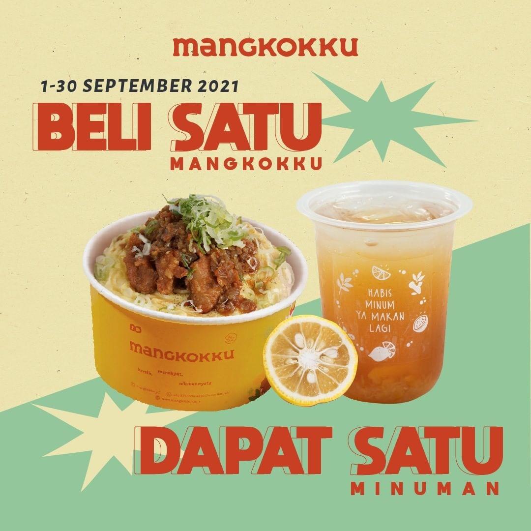 Promo MANGKOKKU - BELI 1 GRATIS 1