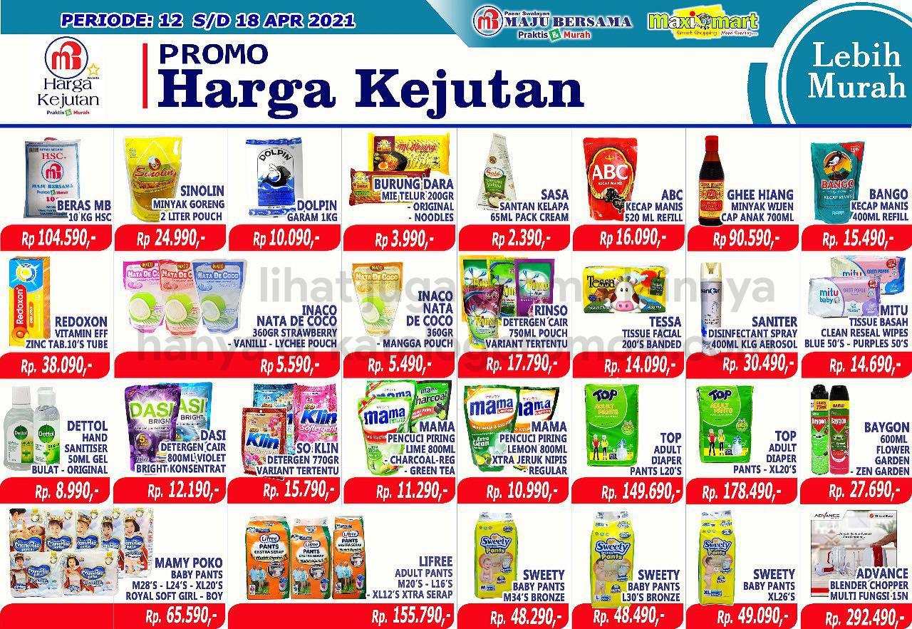 Katalog Maximart Promo Mingguan periode 12-18 April 2021